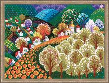 """Набор для вышивания арт.СС-1358 """"Сказочная долина"""" 40х30 см"""
