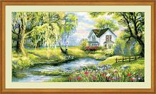 """Набор для вышивания арт.СС-1357 """"Райский уголок"""" 41х23 см"""