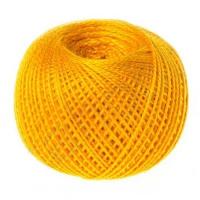 Пряжа Ирис, 100% хлопок 25гр. 0510 (008) оранжевый