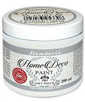 """Краска для домашнего декора на меловой основе """"Home Deco"""" белая, 200 мл"""