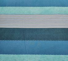 Перкаль 2.2м морские полосы (цена за 1 см)