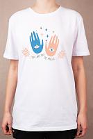 "Раскраска на футболке ""Магия в руках"""