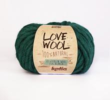 Пряжа Love Wool, цвет 117 изумрудный