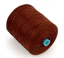 Нить для обметки ковров коричневый, 500 м.