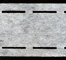 Клеевая корсажная лента белая, 5,5 см.