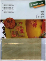 Канва в упаковке Fein-Aida-Vintage18 ct, 48 х 53 см, цвет мокко неоднотонный