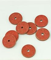 Диски из фибры 9 мм для суставов мишек, 10 шт.