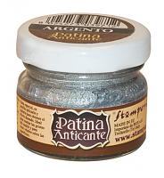 """Патина для создания винтажного эффекта """"Patina Anticante"""", серебро"""