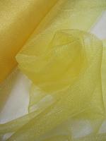 Фатин желтый блестящий