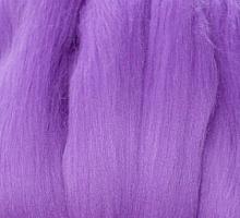 Пряжа LG_Wool (ЛГ Шерсть) для валяния 100% шерсть 100 г  0272 колокольчик