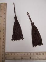 Кисть, цвет коричневый, 135 мм