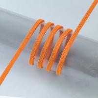Шнур терракотовый  из алькантары, 3м