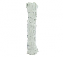 Резинка 7мм белая х 10м