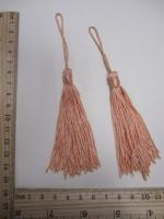 Кисть, цвет персиковый, 145 мм