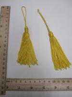 Кисть, цвет желтый, 140 мм