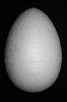 Яйцо из пенопласта- заготовка, h 7 см
