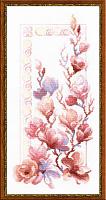 """Набор для вышивания арт.СС-1278 Б """"Нежные магнолии"""" 25x50 см"""