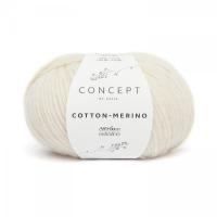Пряжа Cotton-Merino, цвет 100 белый