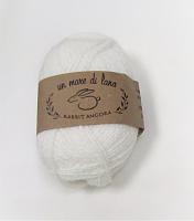 Пряжа Rabbit Angora, цвет 01 белый
