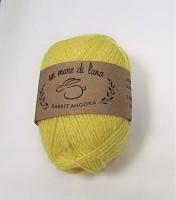 Пряжа Rabbit Angora, цвет 53 светло-желтый