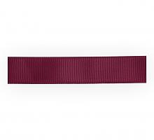Лента репсовая 12 мм, бордовый