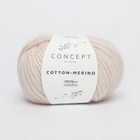 Пряжа Cotton-Merino, цвет 103 нежно-розовый