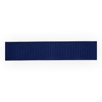Лента репсовая 12 мм, темно-синий