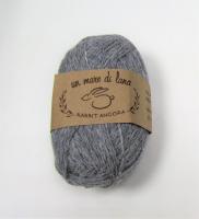 Пряжа Rabbit Angora, цвет 08 светло-серый