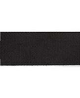 Лента репсовая 5 см, черная