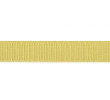 Лента репсовая 12 мм, желто-зеленый