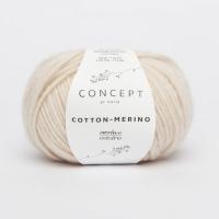Пряжа Cotton-Merino, цвет 101 светло-бежевый