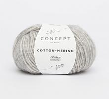 Пряжа Cotton-Merino, цвет 106 светло-серый