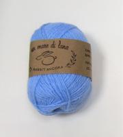 Пряжа Rabbit Angora, цвет 15 голубой