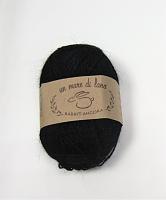 Пряжа Rabbit Angora, цвет 02 черный