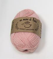 Пряжа Rabbit Angora, цвет 85 розовая дымка ( цена за грамм - мотки разного веса)