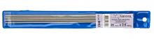"""Спицы прямые металлические """"Gamma"""" 5-ти компл. металл d 2.5 мм, 20 см под никель"""