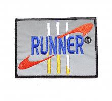 "Термоаппликация ""RUNNER"", 7.3 х 5.3 см"