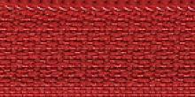 Молния Meras потайная неразъем, 1 замок 3мм 50см, цвет красный
