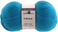 Пряжа Admiral, 100 гр., цвет 4780 бирюзовый