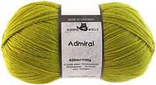 Пряжа Admiral, 100 гр., цвет 0383 оливковый