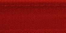 Молния RIRI металл. NI, 6 мм, 18 см, на атласной тесьме, 1 замок неразъемный, тип подвески FLASH, цвет 9426 ярко-красный