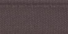 Молния RIRI металл. GO, 6 мм, 16 см, на атласной тесьме, 1 замок неразъемный, FLASH, цвет 9419 серо-сиреневый