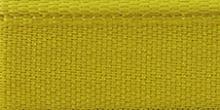 Молния RIRI металл. GO, 4 мм, 16 см, на атласной тесьме, 1замок разъемн., FLASH ярко-желтый
