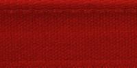 Молния RIRI металл. GO, 6 мм, 18 см, на атласной тесьме, неразъемн., тип подвески FLASH, цвет 9426 ярко-красный
