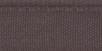 Молния RIRI металл. GO, 6 мм, 18 см, на атласной тесьме, неразъемн., тип подвески FLASH, цвет 9419 серо-сиреневый