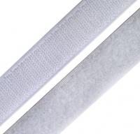 Лента контактная (липучка) белая, 50 мм