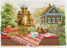 """Рисунок на канве 37х49см арт.1710 """"Натюрморт деревенский"""""""