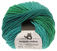 Пряжа Reggae Ombre, 50 гр., цвет 1878