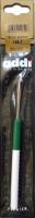 Крючок, вязальный с пластиковой ручкой, №4, 15 см