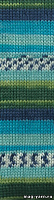 Пряжа Alize SUPERWASH 100 цвет 4445 зеленая бирюза